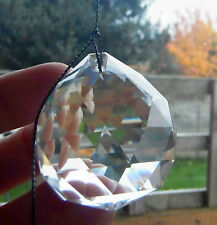 CHRISTMAS WEDDING TREE WINDOW RAINBOW CUT GLASS BAUBEL CRYSTAL 30mm