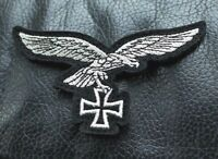 REPRO GERMAN WEHRMACHT EAGLE PATCH WW2 STYLE BRAND NEW BADGE THIRD REICH