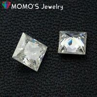 White D color c0.7-3.0mm 1ct Mini Small Size Moissanite Gemstone Excellent cut