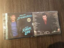 BRUCE SPRINGSTEEN 6 CD  THE RIVER LIVE  GOLD CD LIMITED EDITION