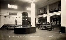 Croydon Aerodrome. Main Booking Hall # 20062 F by C.H.Price. Airport. Clocks.