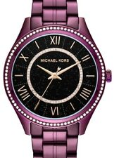 Michael Kors MK3724 Women's 'Lauryn' Quartz Stainless Steel Purple Watch
