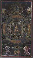 BUDDHA MANDALA THANGKA * NEPAL / TIBET / HIMALAYA * YACKHORN