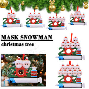 Personalized Christmas Hanging Ornament Family Creative and&Customized XmasGift