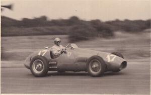 FERRARI  CAR No.17, P.TARUFFI, BRITISH GRAND PRIX SILVERSTONE JULY 1952 PHOTO.