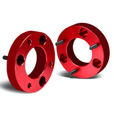 "Fit 2004-2017 Ford F150 2/4WD Red 1.5"" Front Top Mount Leveling Lift Kit Spacer"