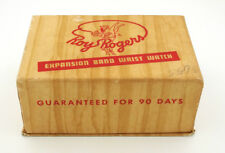 1950's Roy Rogers Expansion Band Character Watch in Original Box by Ingraham