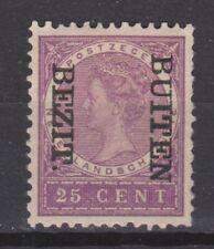 Nederlands Indie Netherlands Indies 94f MLH BUITEN BEZIT kopstaand 1908