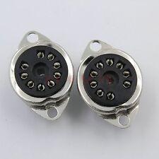 2x9PIN B9A Bakelite Tube Socket for 12AX7 6DJ8 6922 E88CC ECC82 E88CC 5670 EL84