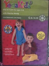 Yoga Kids Gaiam Dvd - Silly to Calm - Ages 3 to 6