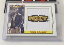 Finn Balor Nxt Wwe All Star Topps Patch Rookie Card Serial Number 2016 #/299