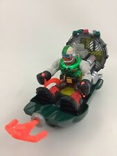 "Rocky Canyon Airboat Climber Fisher Price Rescue Heroes 6"" Action Figure A11"