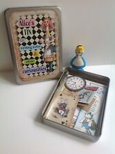 1 Alice's Tin of Writing Notes & other Curiousities containing Papers & Ephemera