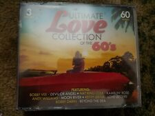 Ultimate Love Collection of the 60's, 3-CD Set