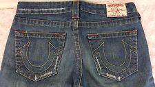 TRUE RELIGION Jeans Womens Bobby Size 30 29 Inseam Boot Cut Medium Wash RN112790