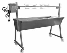 Flaming Coals SP055 Stainless Steel Spit Rotisserie