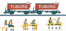 Märklin H0 48777 - DSB Bierwagen-Set Typ ZB - Epoche IV. Mit Figurenset. Neu.