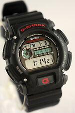 Casio DW-9052-1V Mens G-Shock Chronograph Watch 200M WR Resin Black Sports New