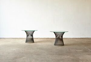 A pair of Warren Platner for Knoll Side Tables, USA