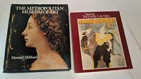 2 Vintage Metropolitan Museum of Art Books 1980 1985 History Henri De Toulouse-L