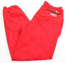 Vintage Malboro Mens Large Adventure Team Red Windbreaker Wind Pants