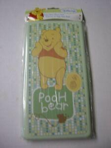 Winnie The Pooh Wipes Travel Case Bu Cudlie Accessories, Green, Brand New