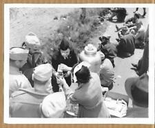 1943 Gumbo Missouri Red Cross Distributes Coffee National Guard 7x9 Press Photo