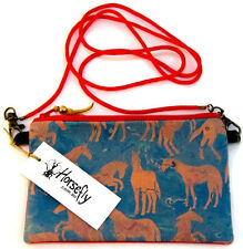 NEW Ladies Horse Lover pouch bag wristlet purse handmade in Australia HORSEFLY