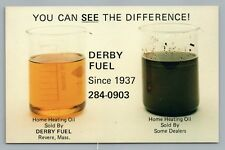 """""""See the Difference"""" HEATING OIL Advertising REVERE Boston MA Vintage~1970s"""