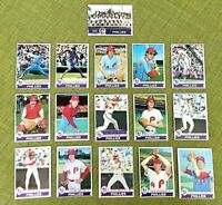 1979 TOPPS BASEBALL PHILADELPHIA PHILLIES  COMPLETE TEAM SET 25 CARDS EX/NM