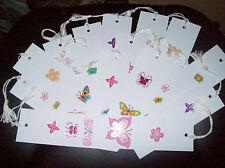 16 BUTTERFLY THEME  BOOKMARKS NEW - FREE SHIPPING