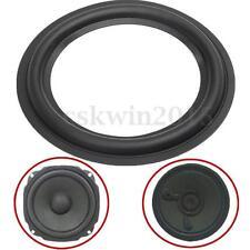 "2Pcs 6.1"" Black Speaker Surround Circle Repair Ring Edge For Bass Woofer Horn"