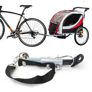 Universal Anhängerkupplung Kupplung Adapter  Fahrradanhänger Kinderwagen Mofa