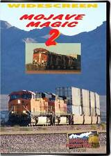 Mojave Magic 2 BNSF Needles Subdivision 2-disc DVD California 3 Hours! video