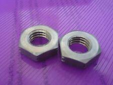 Confezione da 2 M14 dadi di bloccaggio (metà NUTS) A2 in Acciaio Inox