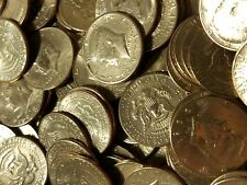 100 Circulated Kennedy Half Dollars ($50 Face Value) Random Dates & Mint Marks