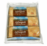 Norwegian Traditional Sweet Bread Original 4x330g Lefse Flatbread Kanel Berthas