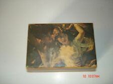 """Oscar Heiss Co. Wooden Music Box Theme From """"Love Story Approx. 3X4"""""""