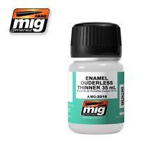 Ammo of Mig A.MIG-2018 Enamel Odourless Thinner - Diluant Enamel - Enamel 35ml
