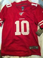 NEW Jimmy Garoppolo 49ers Nike NFL Youth Jersey Large 100 Anniversary Edition