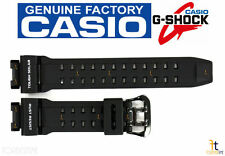 CASIO G-SHOCK GR-9110BW-1 Original Black Rubber Watch Band Strap GW-9110BW-1