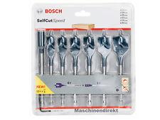 Bosch 2608597009 Flachfräsbohrer-Sets Self Cut Speed 2 608 587 009 7 Stück