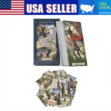 78Pcs Everyday Witch Tarot Desk Cards Game Card English Edition Mysterious USA