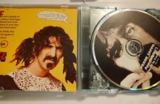 """""""Apostrophe"""" Frank Zappa. 1995 Ryko. Very Good Pre-owned Condition."""