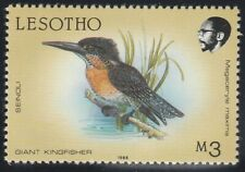 """Lesotho 1988 """"Birds"""" M3 Giant Kingfisher (MH)"""