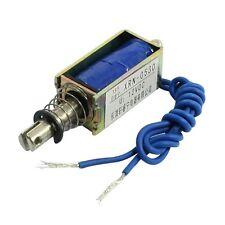 Solenoid electric solenoid type push / pull 10 mm DC 12 V 2.1 kg force J4O7
