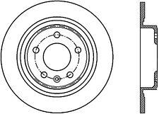 Premium Disc-Preferred fits 2011-2015 Chevrolet Volt Cruze Orlando  CENTRIC PART
