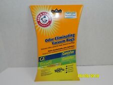 Arm & Hammer Oder Eliminating Vacuum Bags GE Canister (VC-396) Bissell 48K2