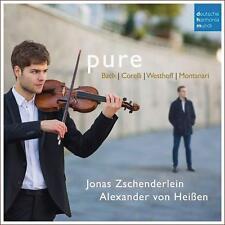 ZSCHENDERLEIN,JONAS/VON HEIßEN,JOHANNES/BACH/+ - PURE  CD NEW!