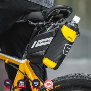 Bicycle Saddle Bag Cycling Under Seat Bike Reflective Seat Water Bottle Bag New